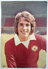 Manchester United 1970's Coffer Poster Jim Holton