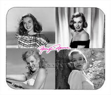 Item#713 Marilyn Monroe Four View Facsimile Autographed Mouse Pad