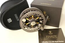Hardy Ultralite 4000 CA DD Titanium Reel Free Gift Free Fast Shipping HRECADT020