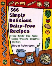366 Simply Delicious Dairy-Free Recipes-ExLibrary