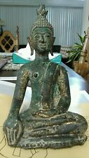 EXTREMELY RARE Chen Seng / Lao   14th ~ 16th century Thailand Buddha Statuette