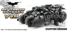 Bat Tumbler building toy Car Dark Knight Mobile for Lego Batman minifigures size