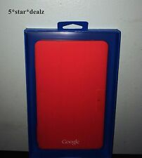 Genuine Google Nexus 7 Folio Case GLE10105 Bright Red NEW