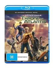 DC Universe: Justice League Throne of At Blu-Ray Region B