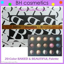 NEW BH Cosmetics 20-Color BAKED and BEAUTIFUL Eye Shadow Palette FREE SHIPPING