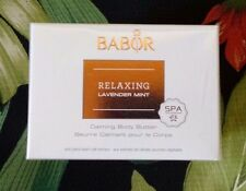 Babor Relaxing Lavender Mint Calming Body Butter 200 ml NEW IN BOX
