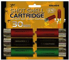 UTG AIRSOFT M3 MULTI-SHOT SPARE SHOTGUN SHELLS 6-PACK EXTRA MAGAZINE CLIP GUN