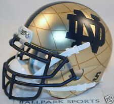 NOTRE DAME IRISH (2014 SHAMROCK SERIES) Schutt XP Mini Helmet