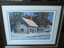 "Bruce Heggtveit Original Oil Painting 12"" 16"""