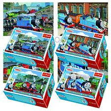 Trefl Mini 4 x 54 Pieces Kids Unisex Thomas The Tank Engine Jigsaw Puzzle NEW