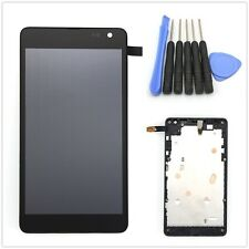 New For Microsoft Nokia Lumia 535 2C Full LCD Touch Screen Glass Digitizer Frame
