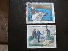 FRANCE - timbre yvert et tellier n° 1363 1364 obl (A18) stamp french (E)