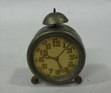 ANTIQUE FIGURAL ALARM CLOCK Pencil Sharpener PENNY TOY GERMANY
