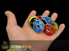 Chinese Coin Set  8 coins magic tricks, magic props, BEAST coins Chinese G1138