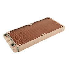 240TG Whole Copper Radiator 2x120mm Dual for PC/Computer Liquid Water Cooling