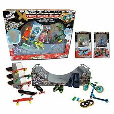 GREAT GIFT Kids 6/14 yrs - Big box full Finger Skates Rollers BMX Scoot Halfpipe