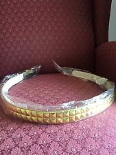GOLD Girls Pyramid Studded Belt Size S 20-22 Inch New