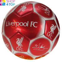 LIVERPOOL FC SIGNATURE BALL SIZE 5 PANEL 32 OFFICIAL FOOTBALL SOCCER CLUB TEAM