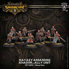 Warmachine BNIB-khador alliés kayazy assassins (10) réemballer