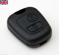 New Peugeot 107 207 407 106 206 2 Button Remote Key Fob Case Cover Shell