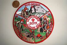 OA MUSCOGEE LODGE 221 INDIAN WATERS COUNCIL FLAP PHILMONT 2011 POCKET PATCH