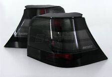 VW Golf MK4 4 Hella Black Smoke Tail Lights Rear Lamp GTI R32 Anniversary