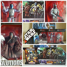 Star Wars Boba Fett Evolution Set *NEW* 30th Anniversary  Collectable Very RARE!