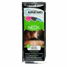 Authentic Kinesio Dynamic Neck Support Pre-Cut Tape Latex-Free Water Resistant
