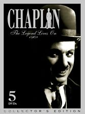 Chaplin:The Legend Lives On - 5 Disc Set (DVD, 2004, 5-Disc Set) LN