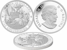 2013 $20 1oz 99.99% Pure Silver Coin 300th ANNIVERSARY OF LOUISBOURG