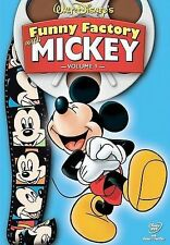 Walt Disney's Funny Factory Vol 1 With Mickey Mouse DVD  Very Good