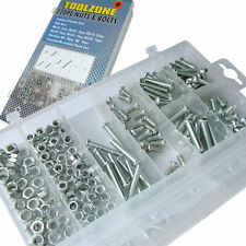 Assorted Nuts & Philips Bolts Set - 6mm & 5mm Nuts With Cross Head Bolt