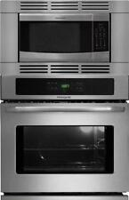 "NIB Frigidaire 30"" Electric Wall Oven Microwave Combination SS"