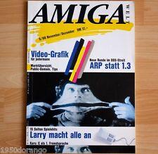 AMIGA Welt Zeitschrift : Nr.: 5 / 88 November / Dezember, Commodore/AMIGA