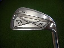 USED CALLAWAY FORGED X SINGLE 6 IRON PROJECT X PXI EXTRA STIFF STEEL SHAFT USED