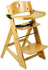 NEW Keekaroo Adjustable Height Right Wood High Chair