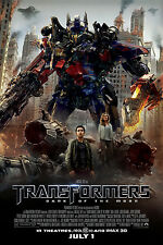 "Transformers 3 MOVIE Fabric poster 36"" x 24""  Decor 010"