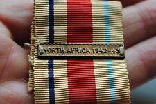 WW2 North Africa 1942-43 Medal bar