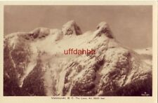 VANCOUVER B. C. CANADA THE LIONS altitude 6500 ft real photograph post card