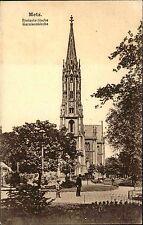 Feldpostkarte aus METZ Protestantische Garnisonskirche 1916 Feldpost nach Zabern