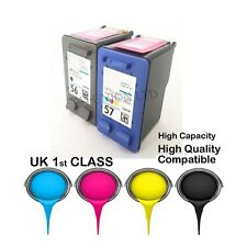 2 compatible ink catridgeS for hp56& hp57 HP PRINTER