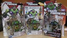 Transformers Generations Deluxe Waspinator all three version lot