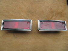 CHEVROLET CAPRICE IMPALA REAR SIDE MARK LAMP 1980-1990 A pair!!