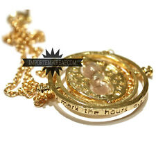 HARRY POTTER COLLANA GIRATEMPO hermione Necklace collier time turner tempo gira