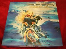 Doro Pesch 20 Years collectors Fan box x- Warlock Autograped
