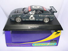 SUPERSLOT H2505 MASERATI COUPE COMBICORSA TROFEO 2003 #41 ZEGNA SCALEXTRIC UK MB