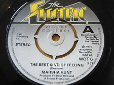"MARSHA HUNT - THE BEST KIND OF FEELING  7"" VINYL DEMO"