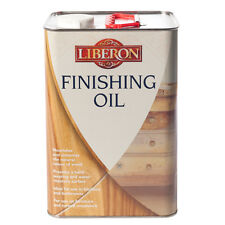 Liberon Finishing Oil 5 Litre Wood Treatment Ideal for Kitchens and Bathrooms