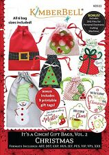 IT'S A CINCH-GIFT BAGS, VOLUME 2: CHRISTMAS SEWING PATTERN, From Kimberbell NEW