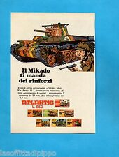 TOP977-PUBBLICITA'/ADVERTISING-1977- ATLANTIC - CARRO GIAPPONESE CHI-HA mod.97